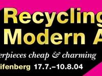 recycling modern art masterpieces cheap and charming